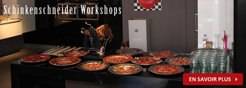 Serrano Iberico Pata Negra Schinkenschneider Workshops